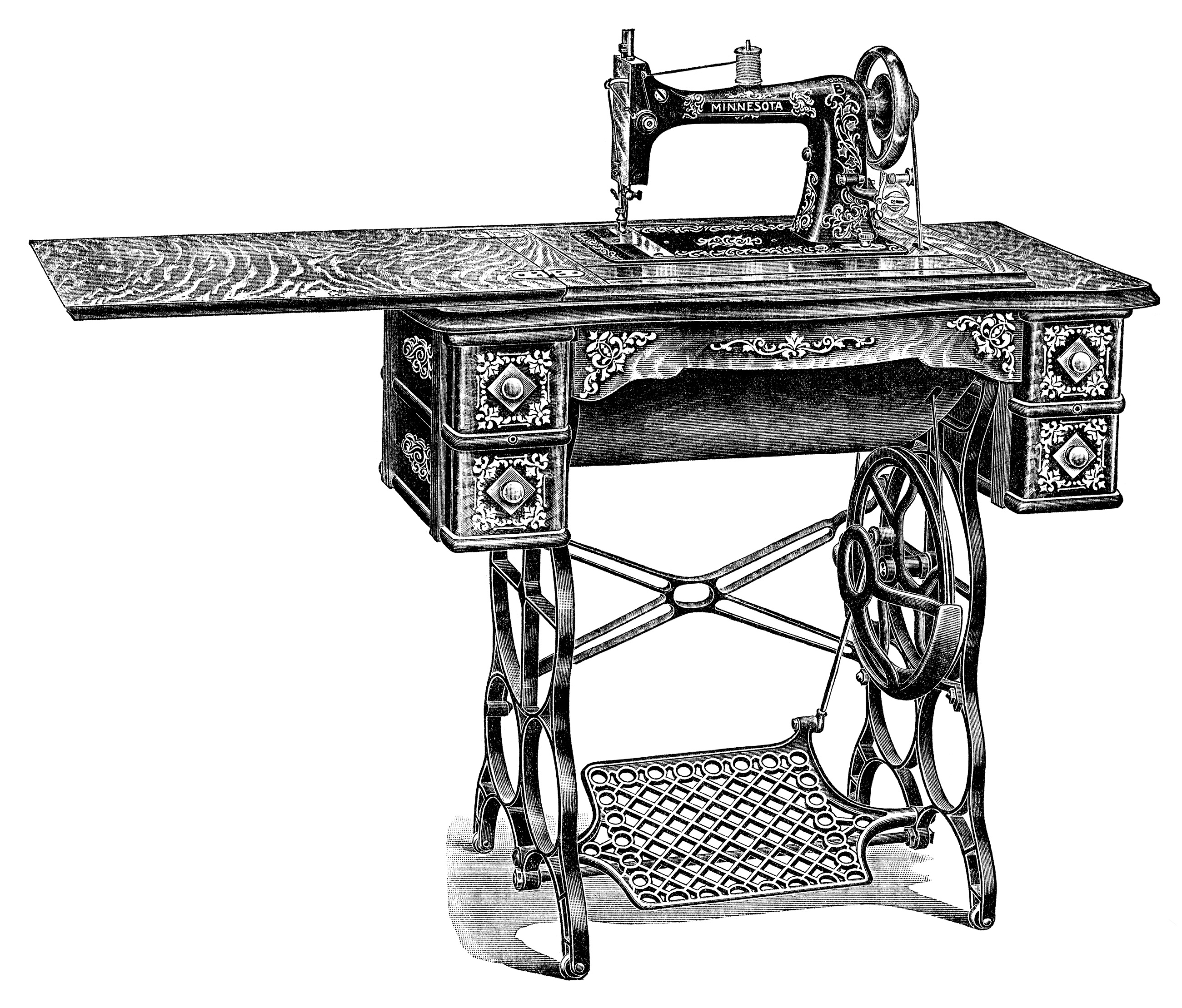 Old-sewing-machine