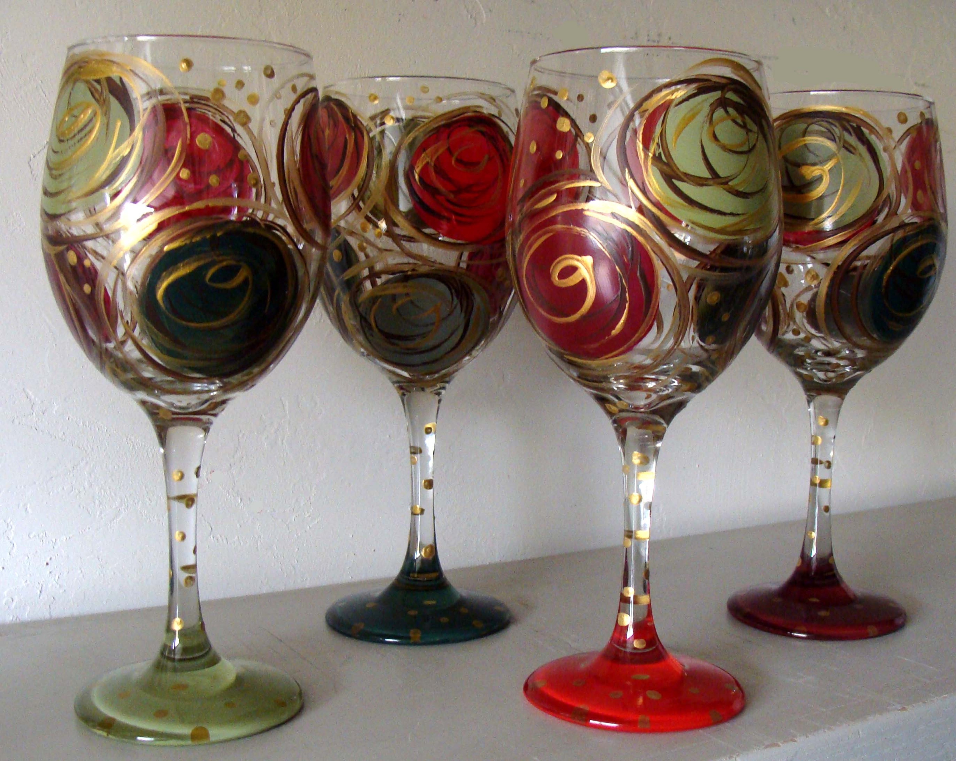 Wine Glass Painting Supplies