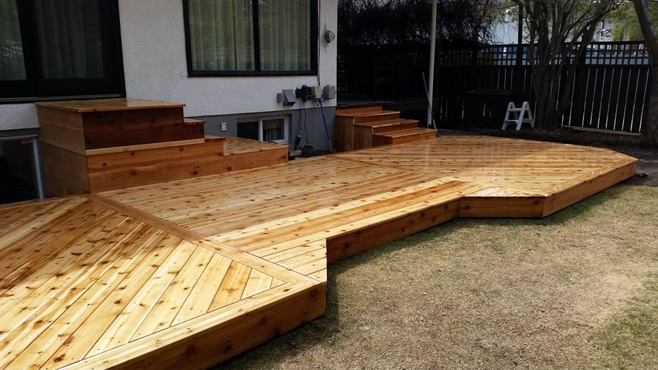 Cedar-Deck