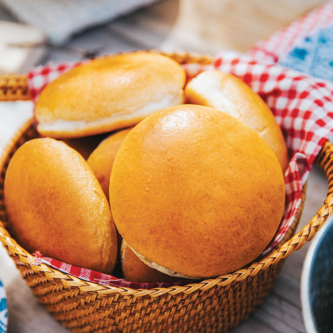 Gourmet-Hamburger-Buns