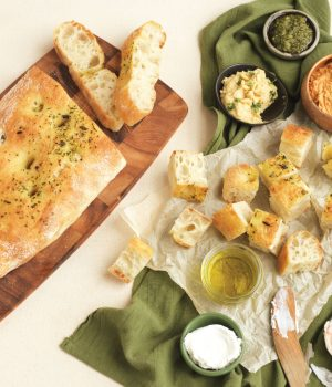 Turkish Loaf with Oil and Dips.jpg